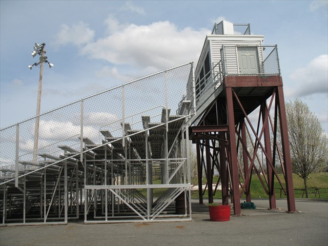 Cawley Stadium - Lowell Massachusetts - New Access Stairway - Stands (Galvanized)