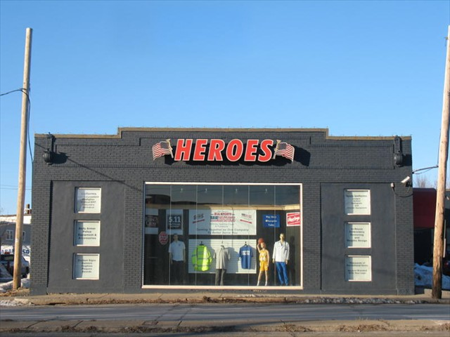 HEROES - Lowell Massachusetts - Structural Steel - Rebar