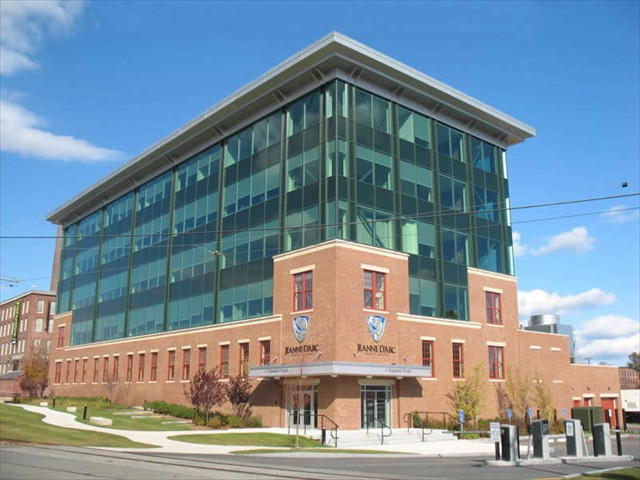 Jeanne D'Arc Credit Union - Lowell Massachusetts - Structural Steel