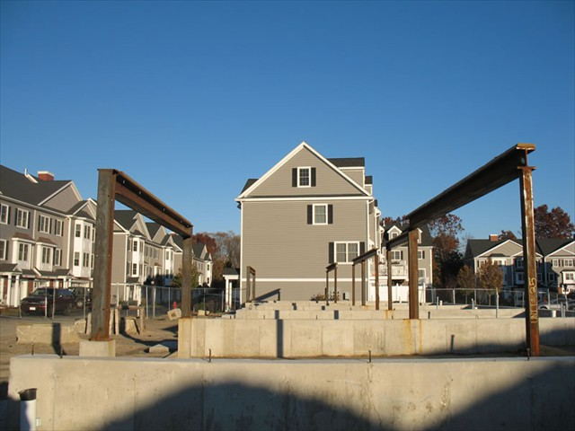 Millview Estates - Lowell Massachusetts - Structural Steel - Rebar (construction underway)