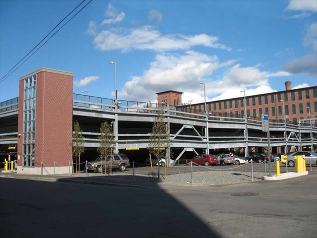 Perkins Street Parking Garage - Lowell Massachusetts - Structural Steel
