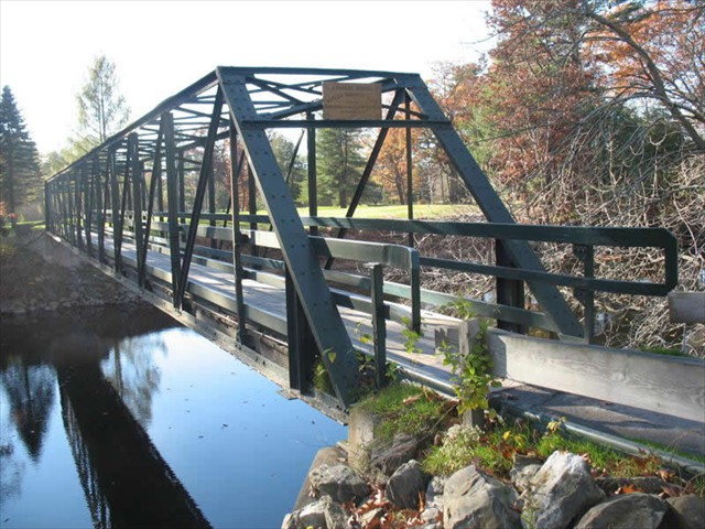 Vesper Country Club (Forrest Golf Cart Bridge) Tyngsboro Massachusetts - Complete Renovation - Structural Steel Upgrade